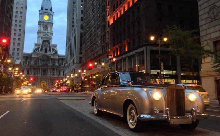 rent a rolls royce in bucks county pa