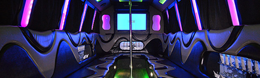 rent a party bus in Bucks County PA